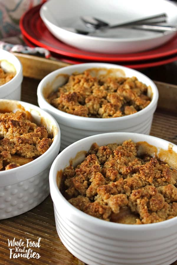 Whole Grain Apple Crumble
