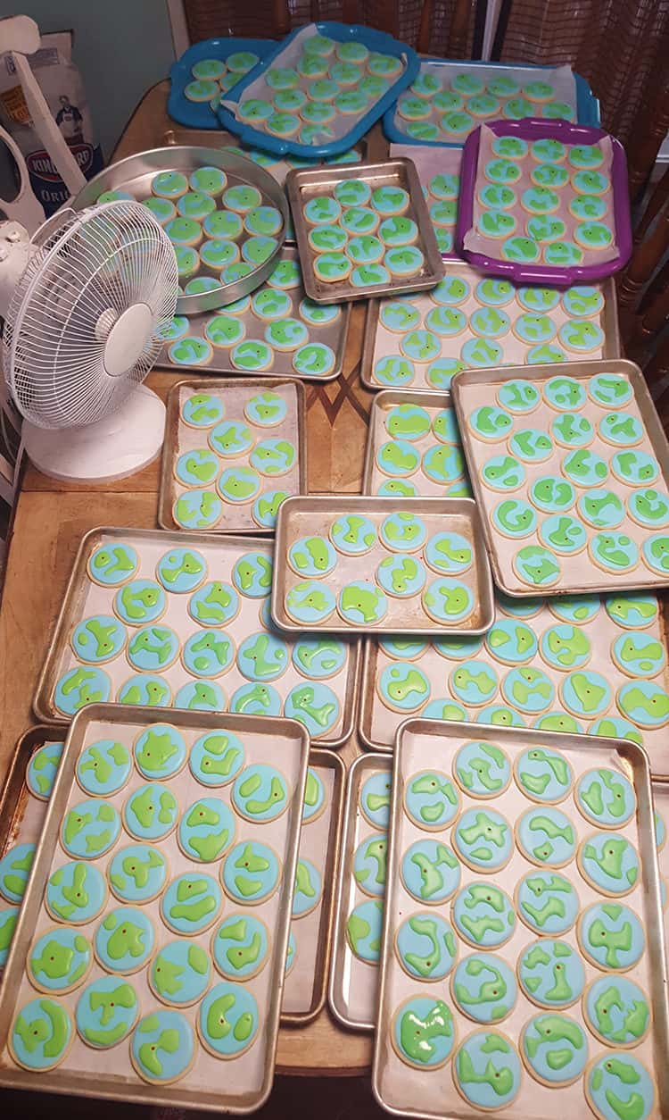 cookies-drying