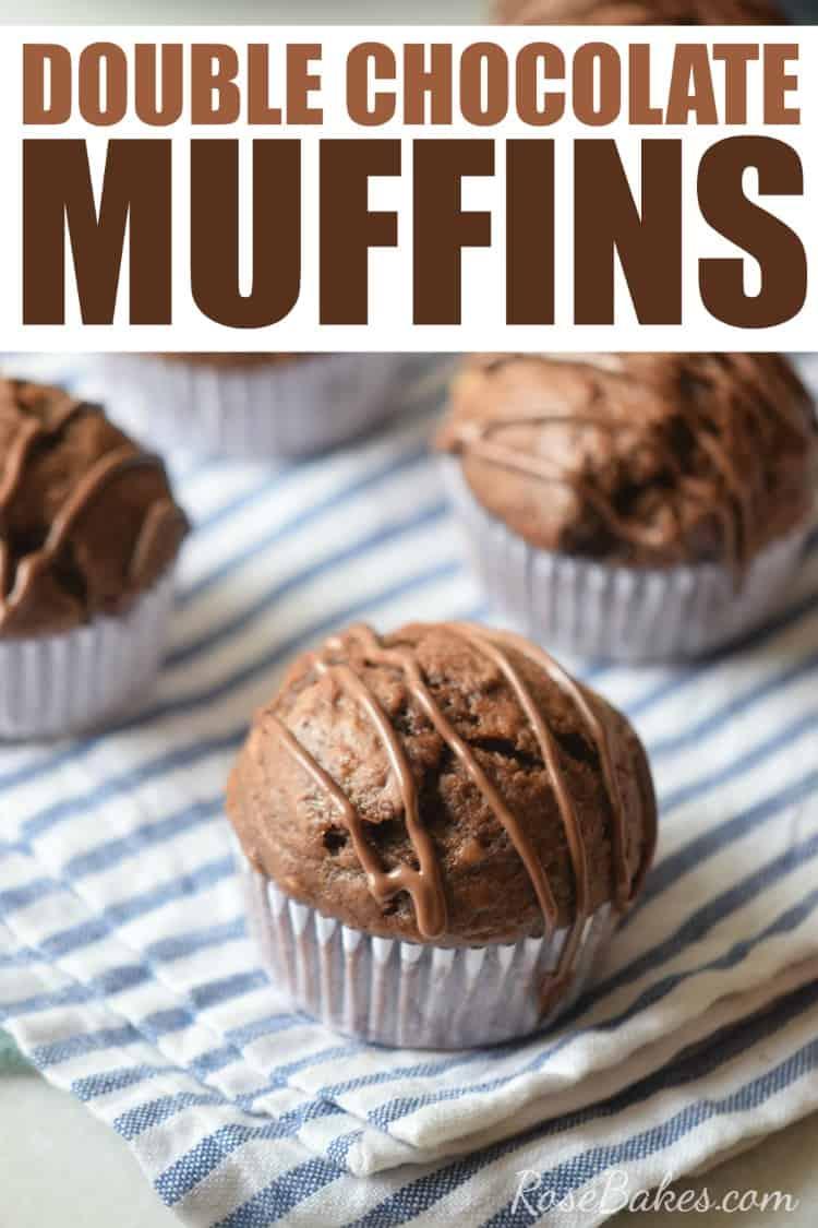 Mini Chocolate Chip Muffins {My Kids Make Them!} - Rose Bakes