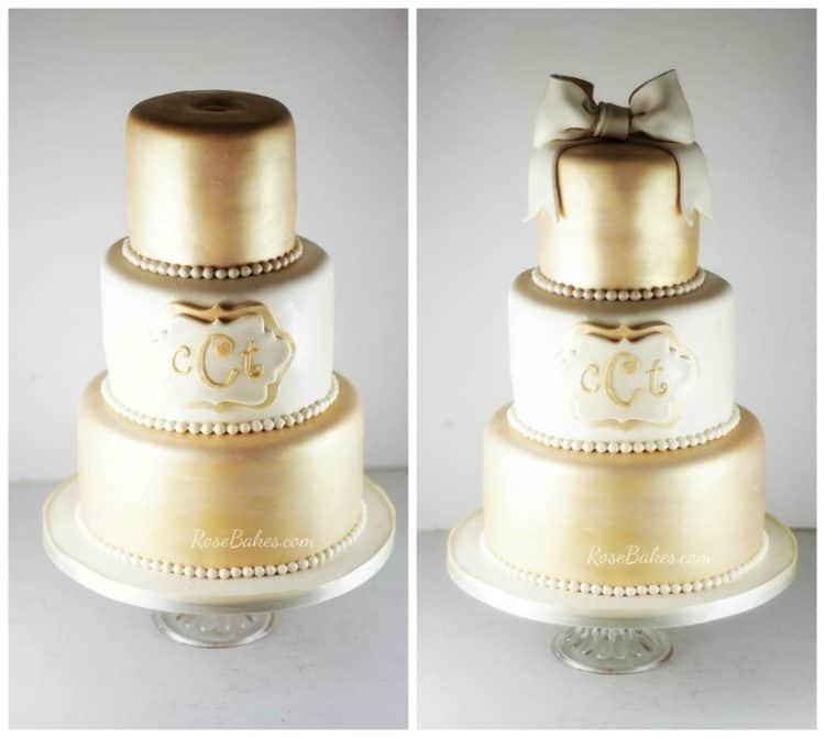gold-cream-birthday-cake