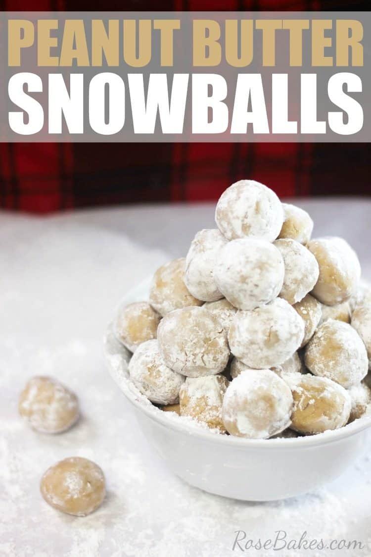 Peanut Butter Snowballs Recipe by RoseBakes