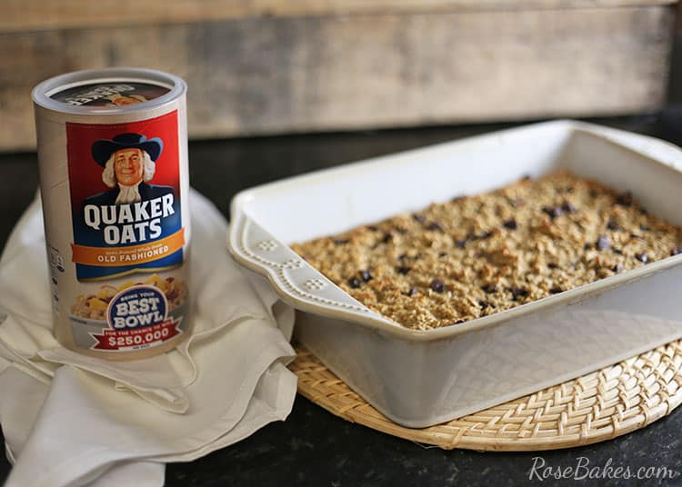 baked-chocolate-chip-oatmeal-with-quaker-oats