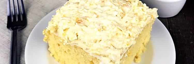 Sugar Free Pineapple Lush Cake