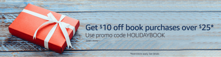 Amazon Book Coupon!