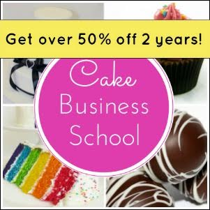50% off Cake Business School + Freebie!