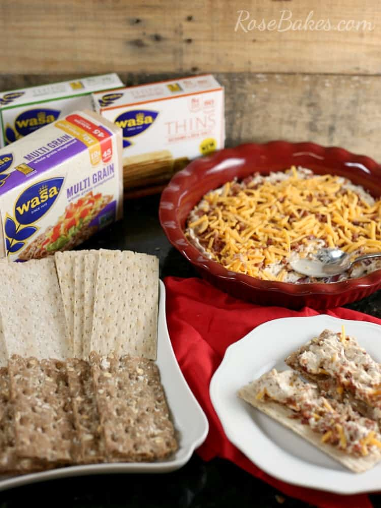 creamy-bacon-cheese-dip-with-wasa-crackers