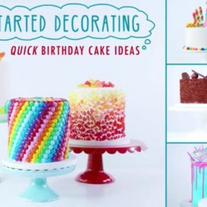 Quick Birthday Cake Designs : Cakes, Cupcakes, Cookies & Cake Pops Archives - Rose Bakes