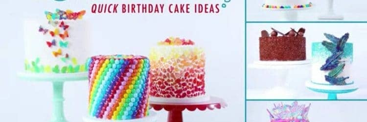Get Started Decorating Quick Birthday Cake Ideas
