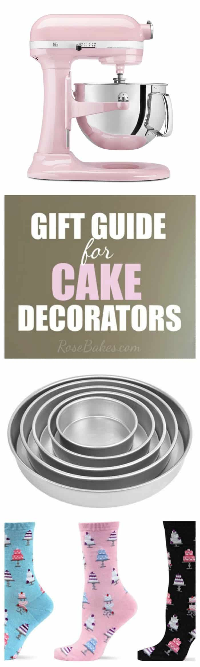 A Gift Guide for Cake Decorators & Bakers - Gifts for any Budget!