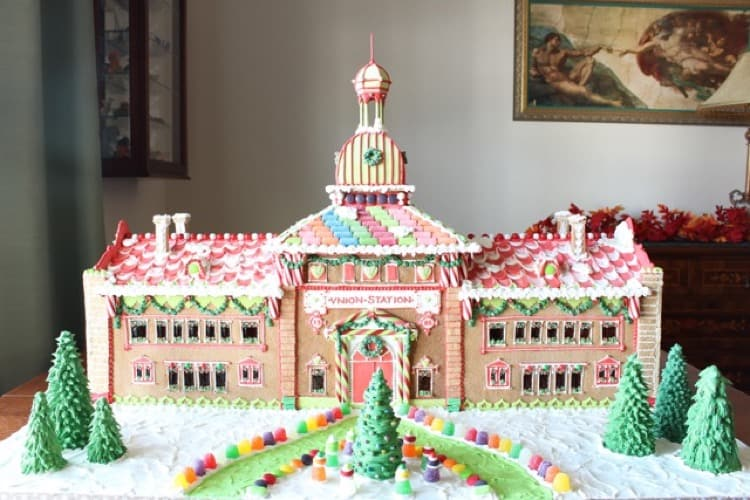 Gingerbread Union Station
