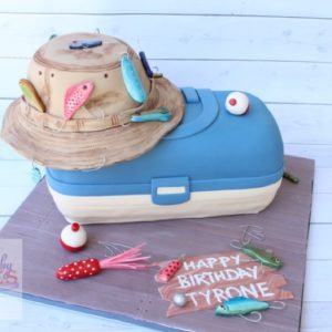 Tackle box Cake