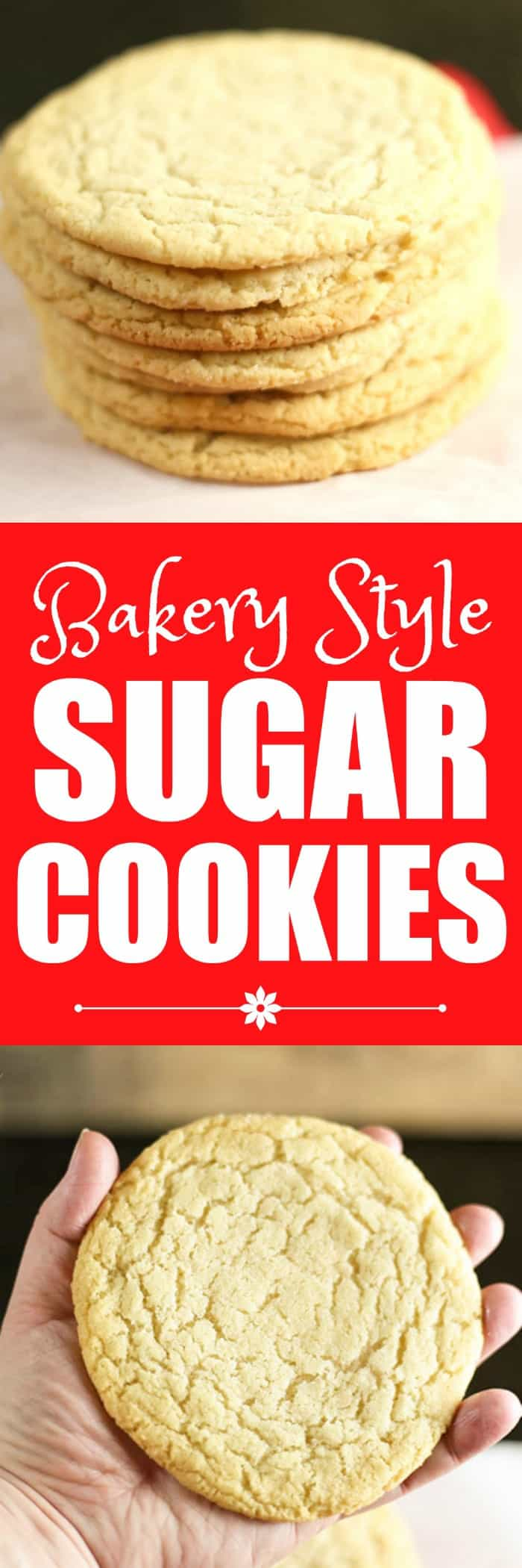 Bakery Style Sugar Cookies - Rose Bakes