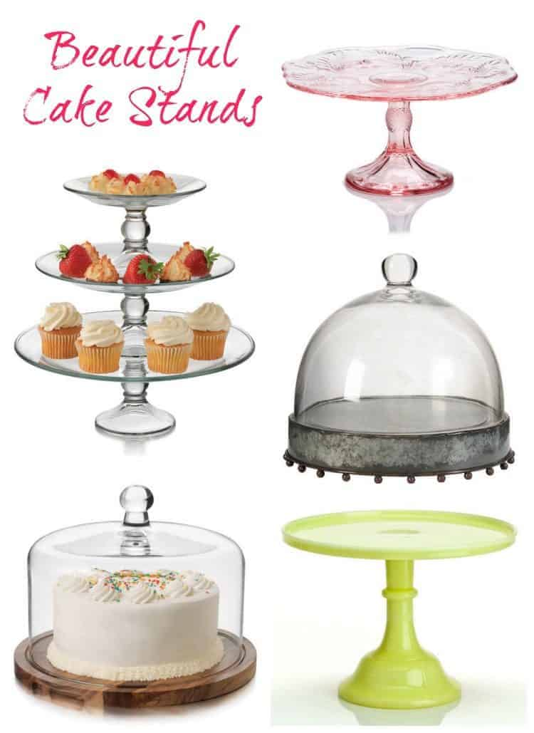 Beautiful Cake Stands on Sale at Zulily!