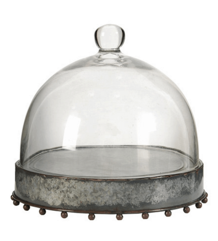 Rustic Cake Stand on sale at Zulily