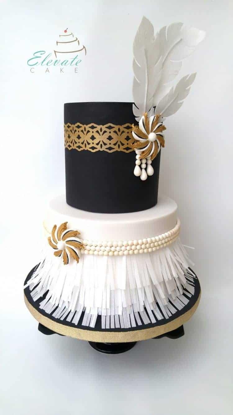 January Who Takes The Cake Winner Elevate Cake Rose Bakes