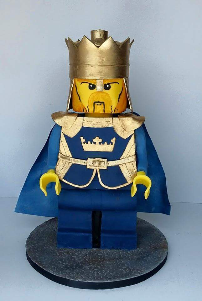 Lego King Minifigure