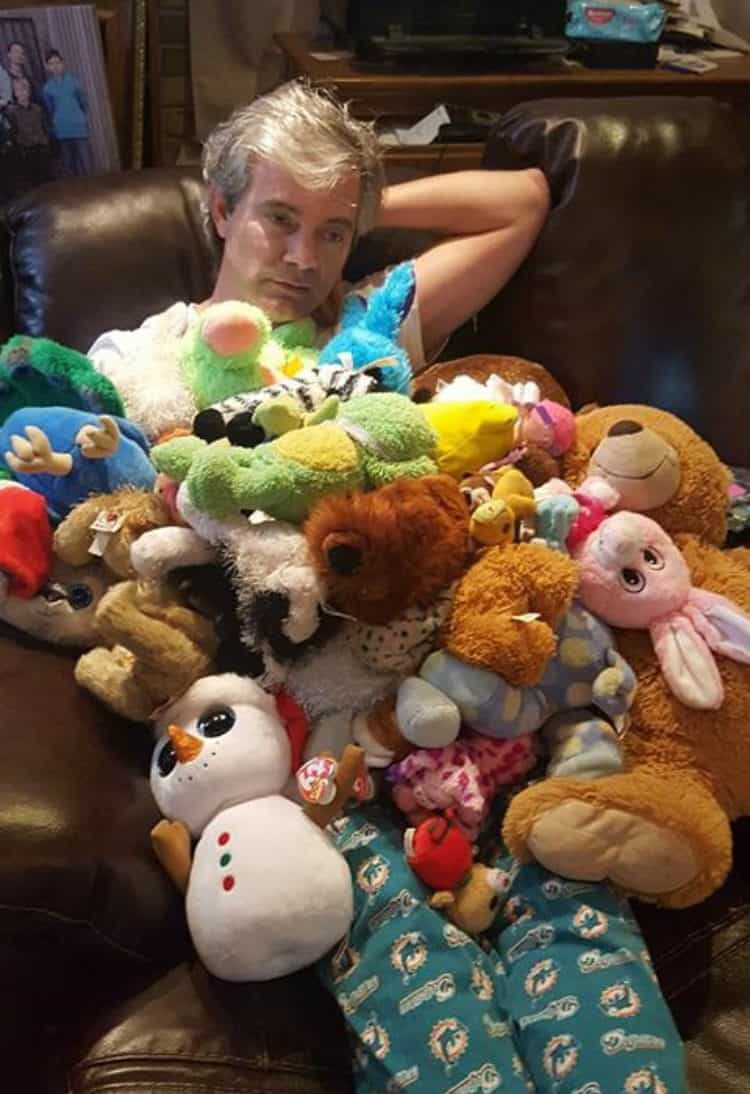 Richy with Animals