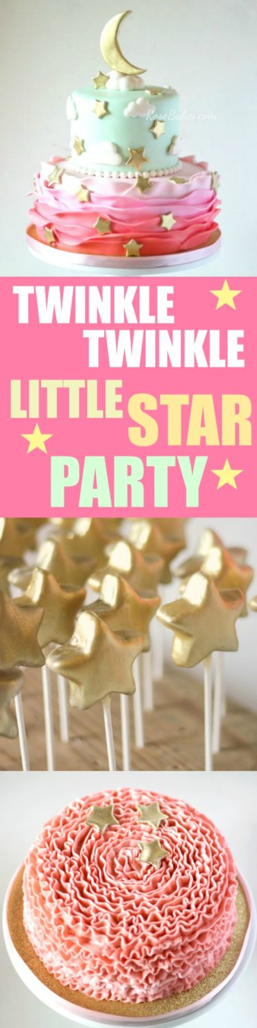 Twinkle Twinkle Little Star Party Cake Smash Cake And