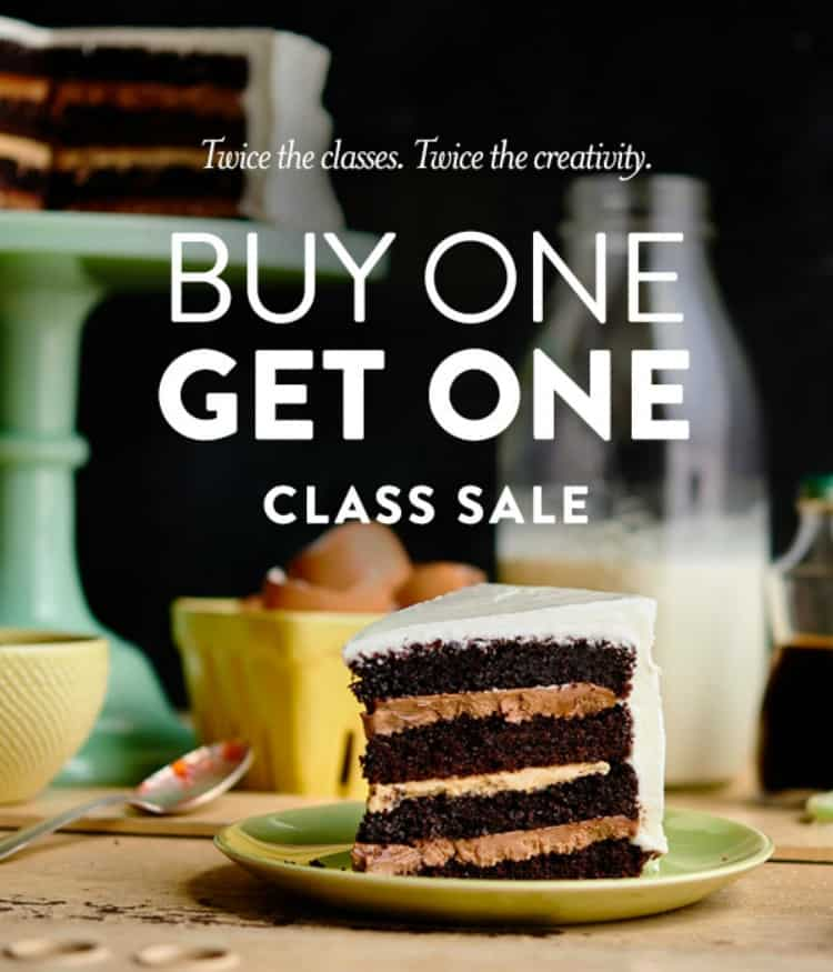 Buy One Cake Decorating Class - Get One Free! - Rose Bakes