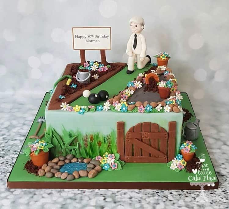 Norman's 80th birthday cake