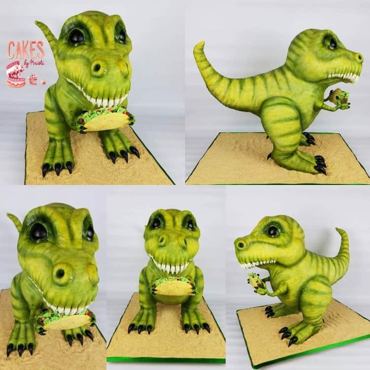 Marissa's Taco Loving Dinosaur