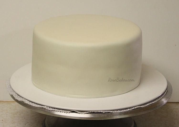 How To Make Fondant Basketweave Rose Bakes