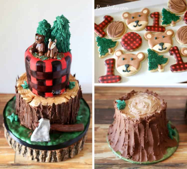 What I've Been Doing And A Lumberjack Tree Stump Cake