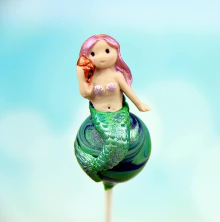 Mermaid Cake Pop