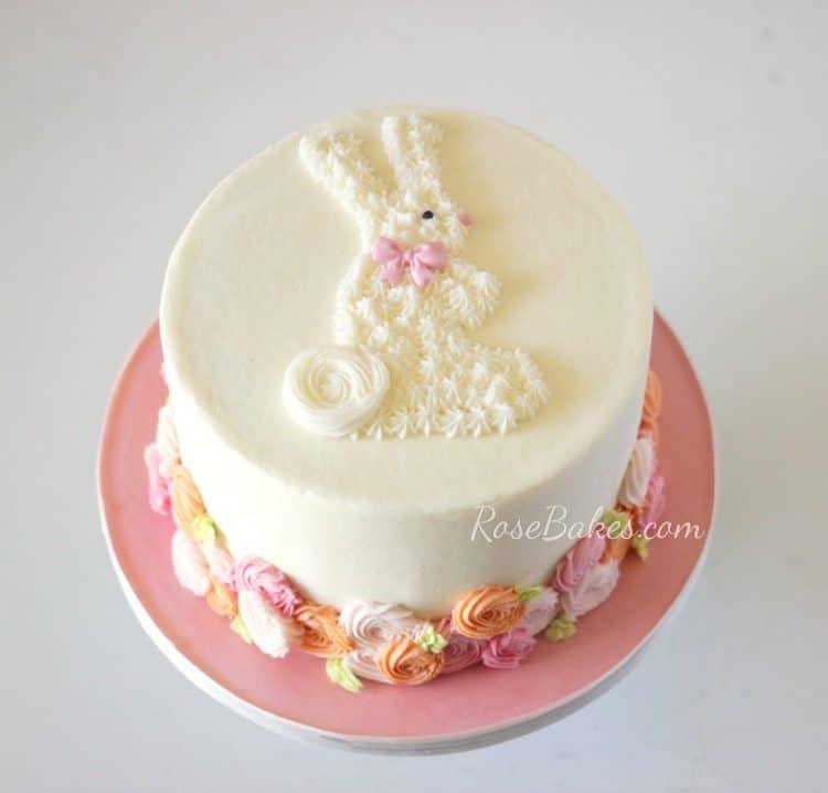 Bunny 1st Birthday Cakes