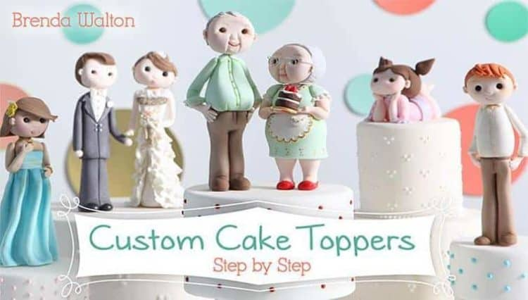This Is A Phenomenal Price For Cl Loaded With Detailed Instructions On Making Custom Cake Toppers That Your Clients Are Going To Love