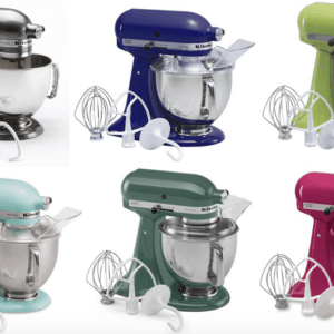 **HOT** Kitchenaid Deal at Kohls (as low as $210 plus taxes and a FREE Food Grinder!!)