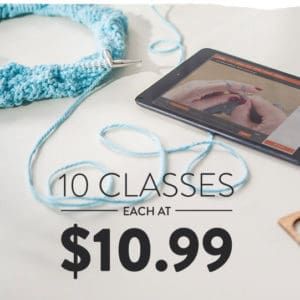 Tax Day Craftsy Sale With $10.99 Classes!