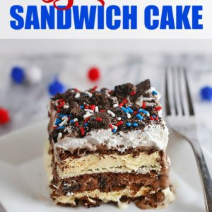 Easy Ice Cream Sandwich Cake (Perfect for a Crowd!)