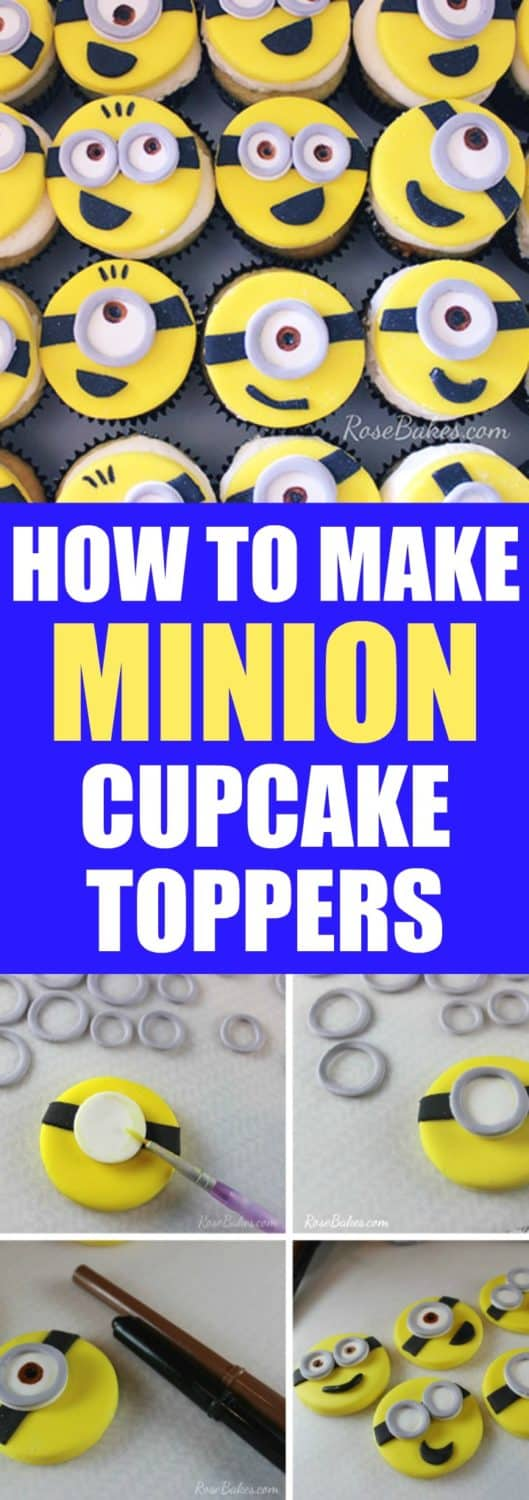 Behance do you have any questions about how to make minion cupcake toppers leave me a comment baditri Image collections