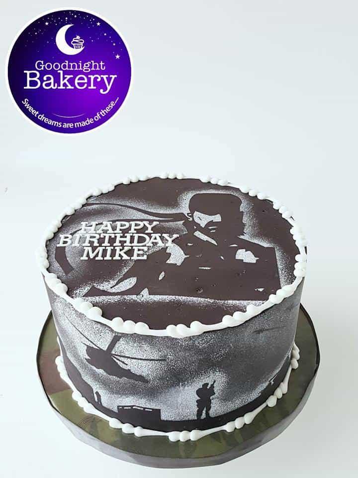 Metal Gear Gamer Cake
