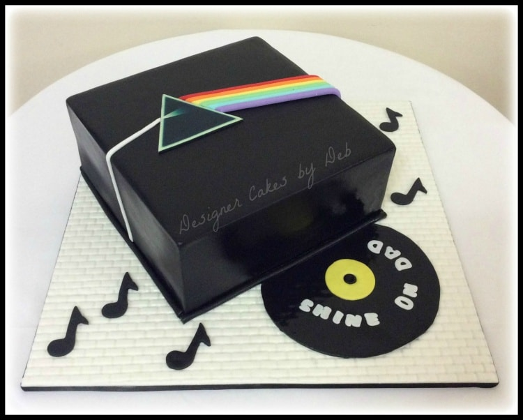 Pink Floyd Dark Side of the Moon Cake