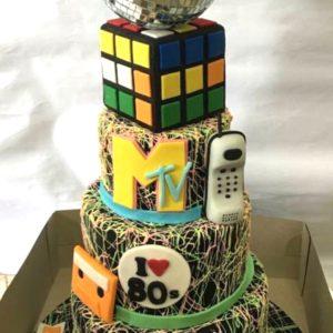 WTTC Winner 80s Cake