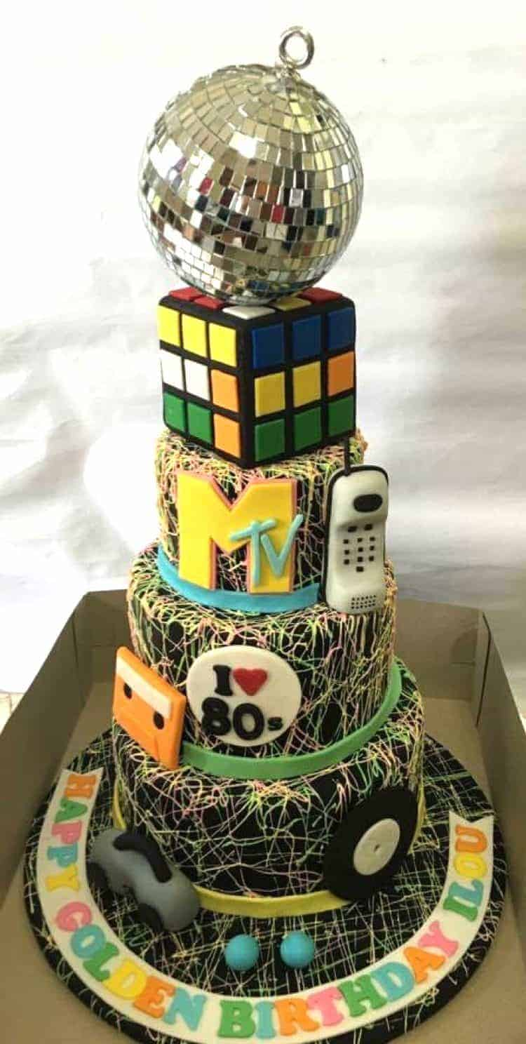 We Had So Many Excellent Submissions For This Months Theme Black Her 80s Themed Cake Took The