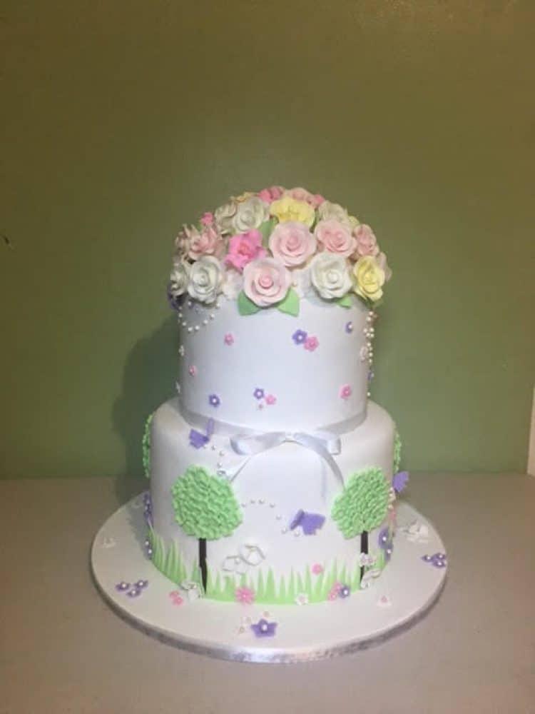 WTTC Winner Flowery Cake