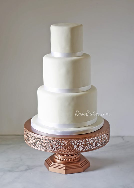 tall white wedding cake stand that day i compared myself to someone else and felt like a 20747