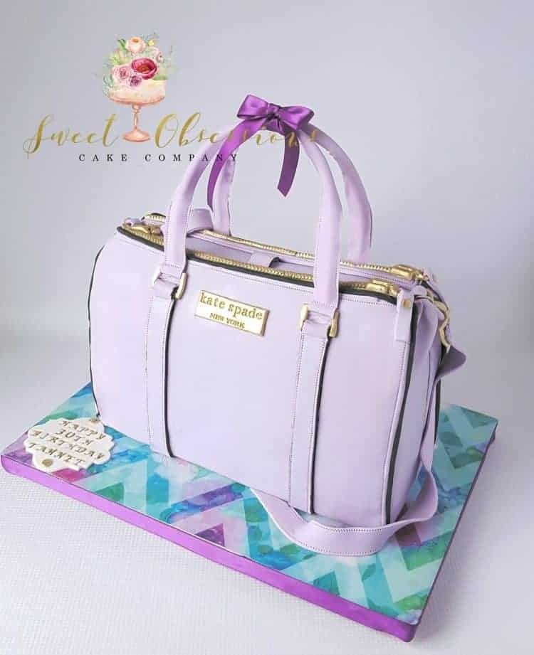 Kate Spade Purse Cake WTTC Runner Up