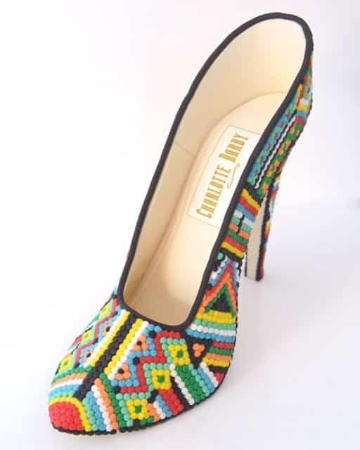 Beaded Sugar Shoe - WTTC Winner