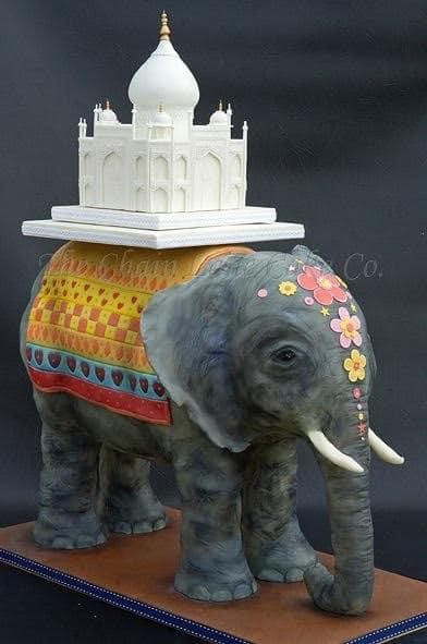 Elephant Cake - WTTC Winner