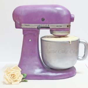 Purple Kitchenaid Mixer Cake