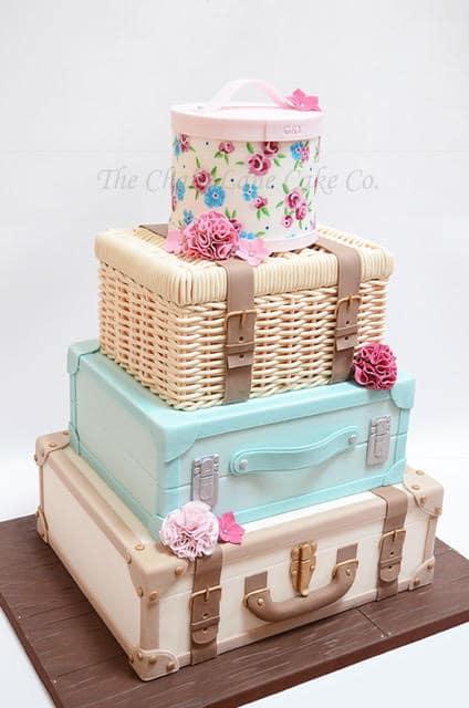 Luggage Cake - WTTC Winner