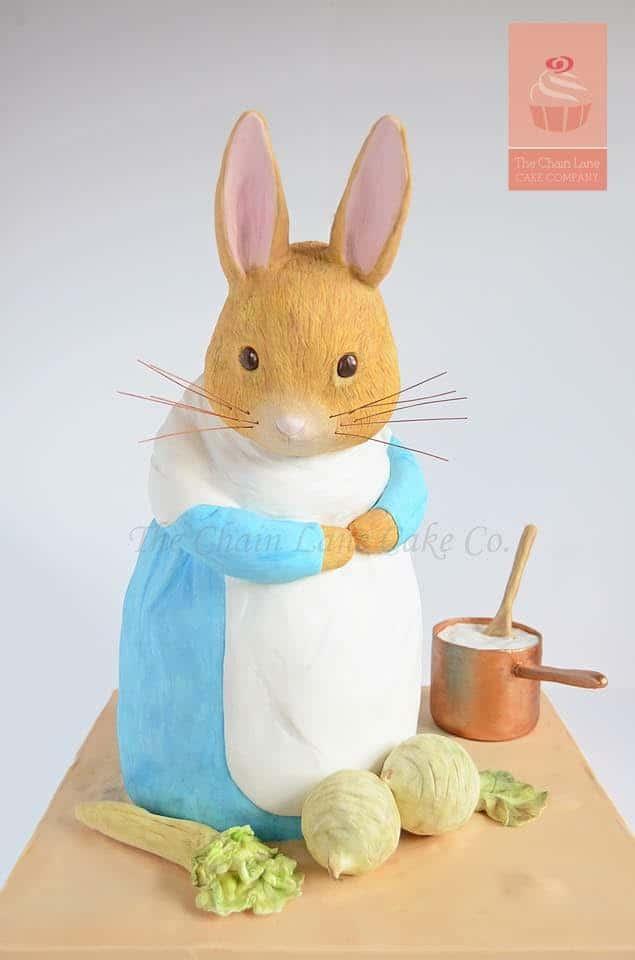 Mrs Rabbit Cake - WTTC winner