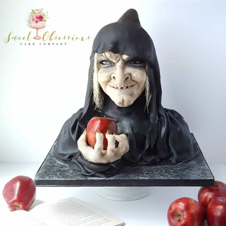Witch with Apple cake by WTTC runner up