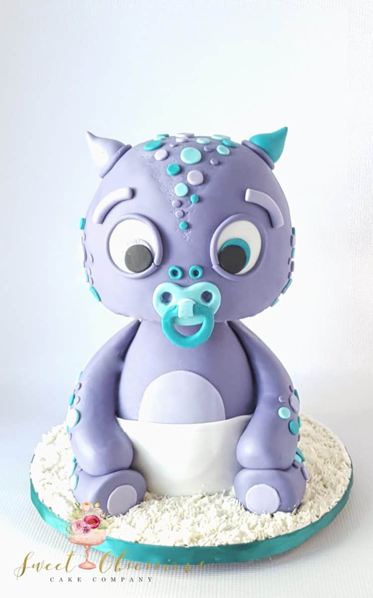 Baby Dino Cake by WTTC runner up