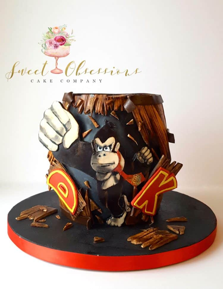 Donkey Kong Cake by WTTC runner up
