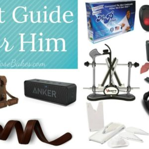 Gift ideas for the men in your life.
